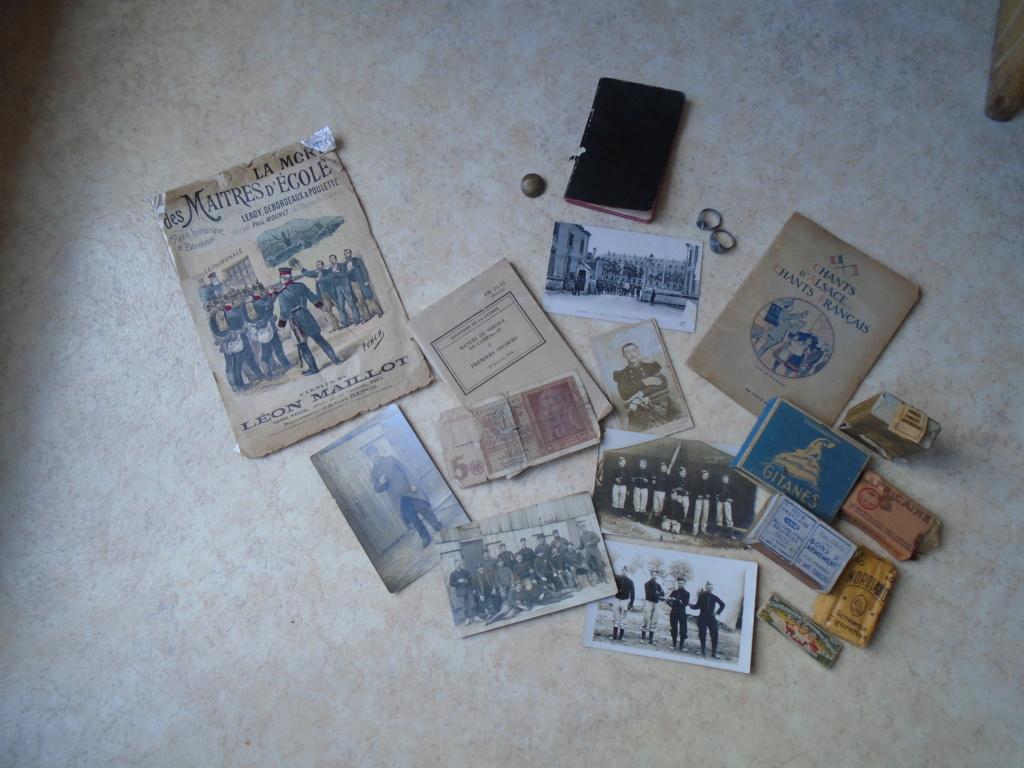 récup de familles,photos,carnet de route du 104eme RI (Argentan)1914 Dsc08613