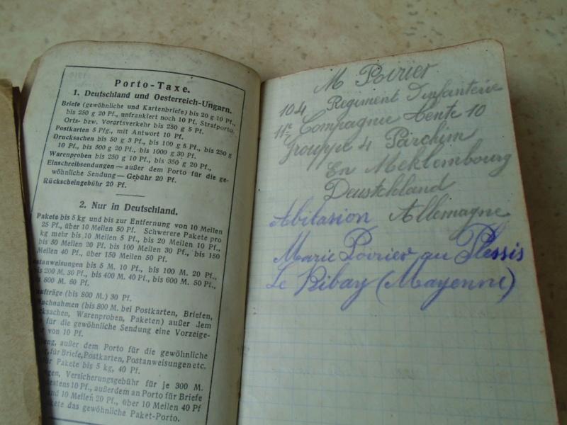 récup de familles,photos,carnet de route du 104eme RI (Argentan)1914 Dsc08616