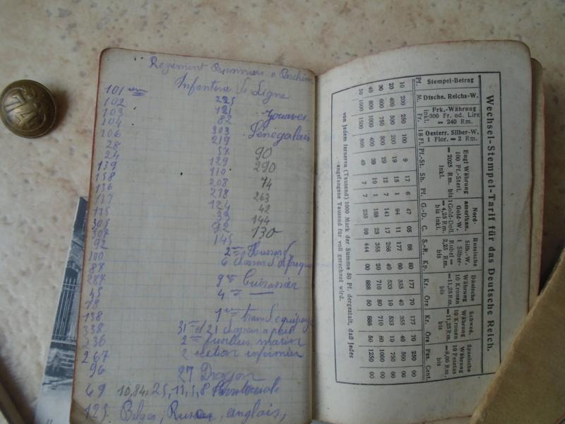 récup de familles,photos,carnet de route du 104eme RI (Argentan)1914 Dsc08617