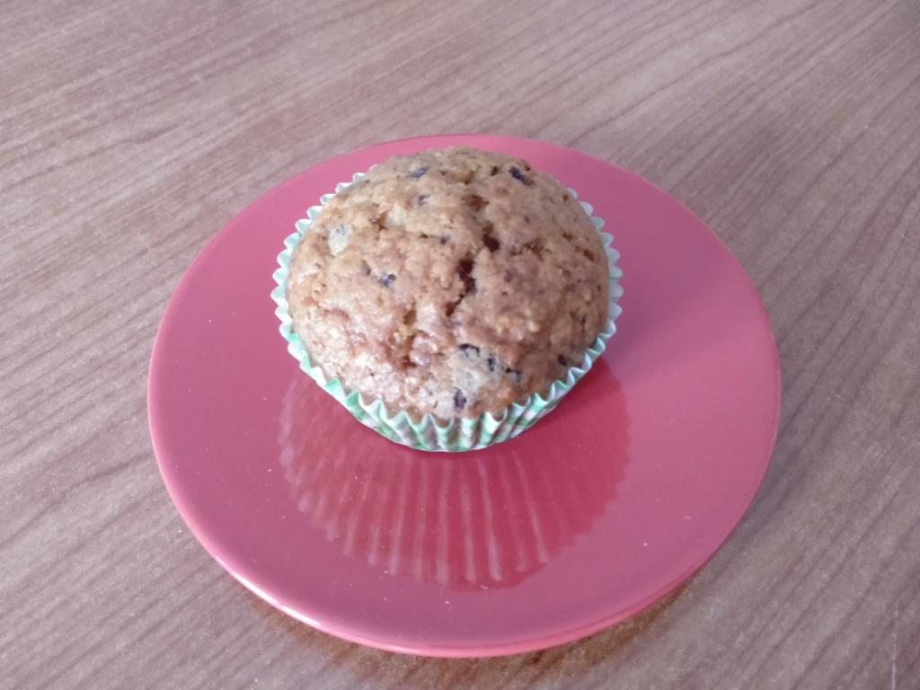 Muffin banana e cioccolato Img_2061