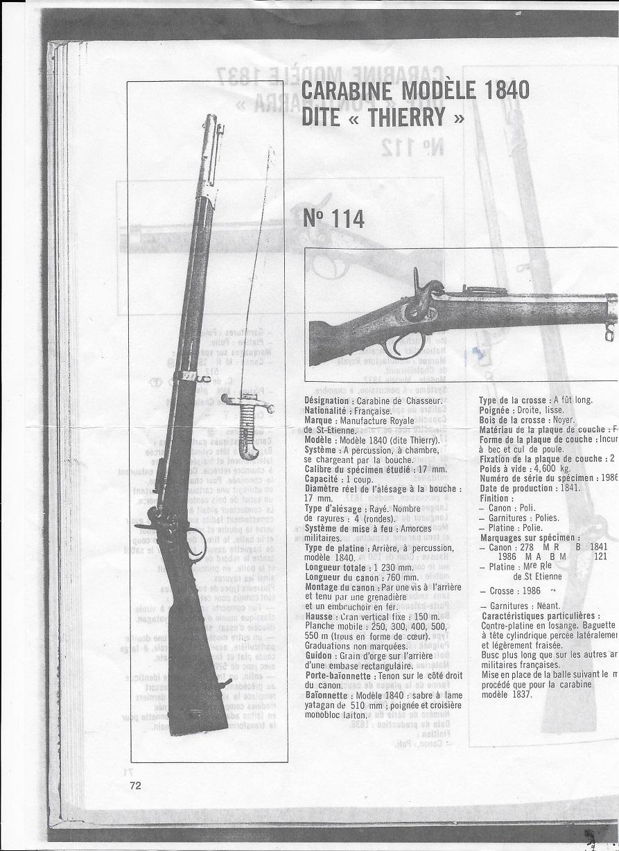 "Ma carabine modèle 1840 dite ""Thierry"" Carabi10"