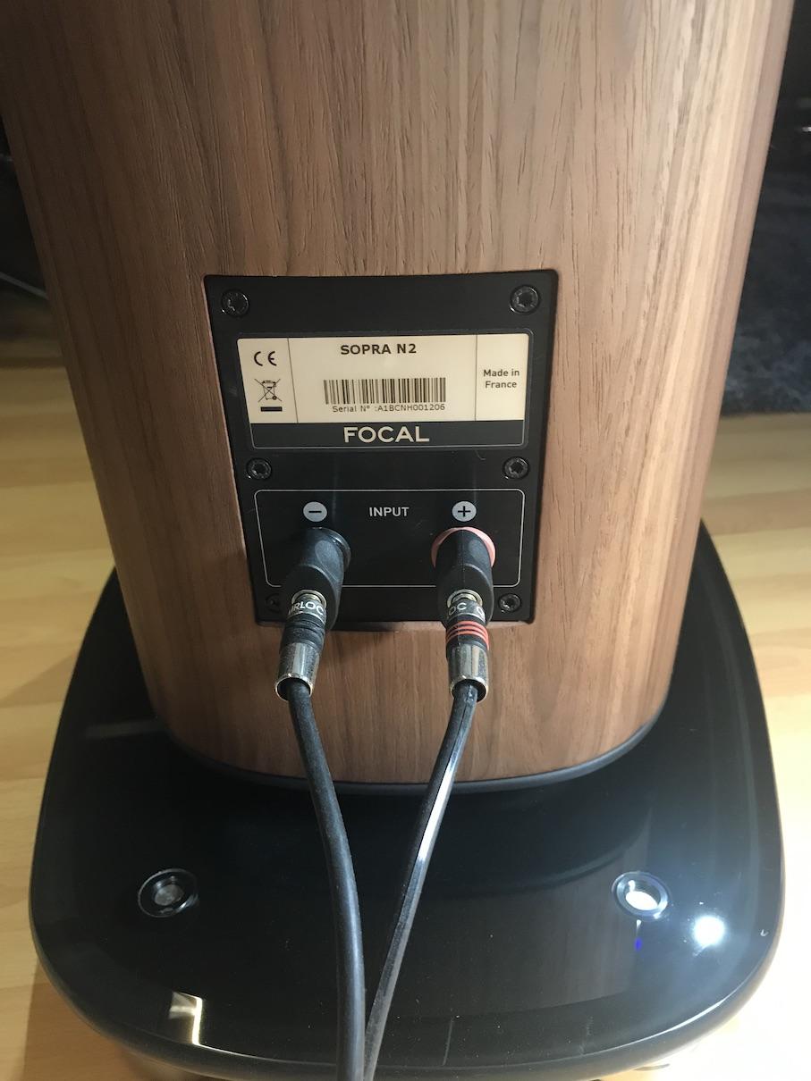 Focal Sopra No 2 High End Floor stand Speaker Img_7514