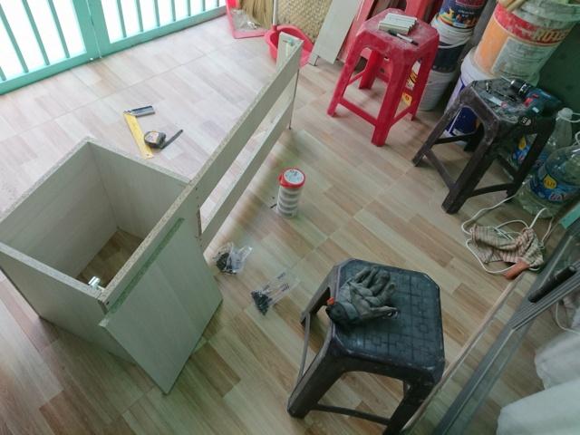Chia sẻ quá trình DIY bàn làm việc/giải trí phong cách Minimalism 49780110
