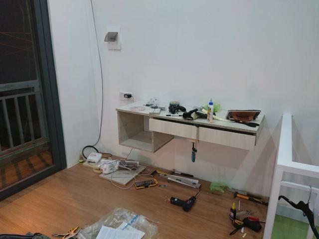 Chia sẻ quá trình DIY bàn làm việc/giải trí phong cách Minimalism 49782310