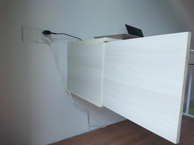Chia sẻ quá trình DIY bàn làm việc/giải trí phong cách Minimalism 49783210