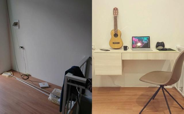 Chia sẻ quá trình DIY bàn làm việc/giải trí phong cách Minimalism 51744610