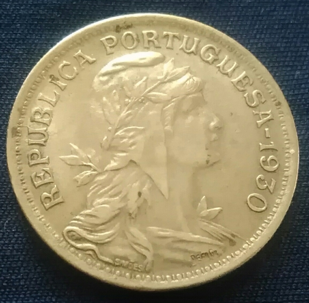 Ná, hoy pasaba por aquí ... 50 Centavos de 1930. República de Portugal. Img_2058