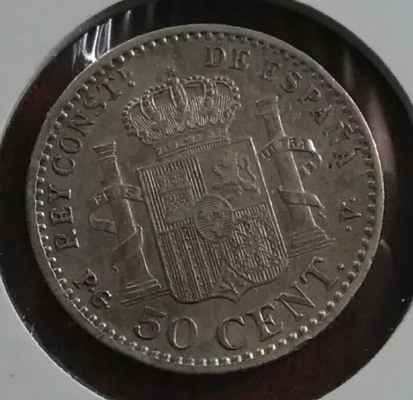 50 ct 1896 Alfonso XIII (Alfonsín) Img_2074