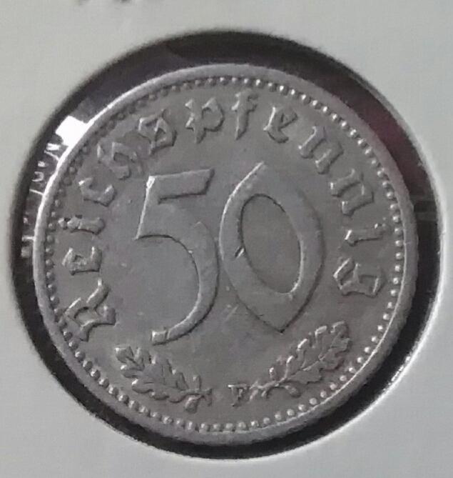 III REICH. Alemania. 50 Reichspfennig de 1940 F Img_2075