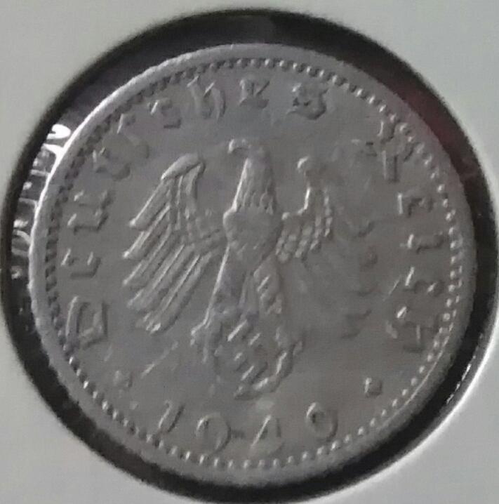 III REICH. Alemania. 50 Reichspfennig de 1940 F Img_2076