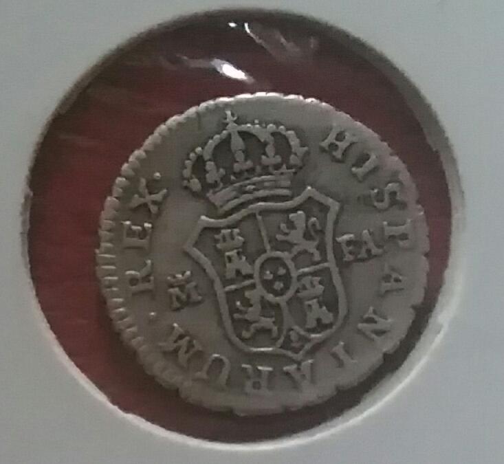 Otro telar... 1/2 real Carolus IV. 1808. Madrileña Img_2078