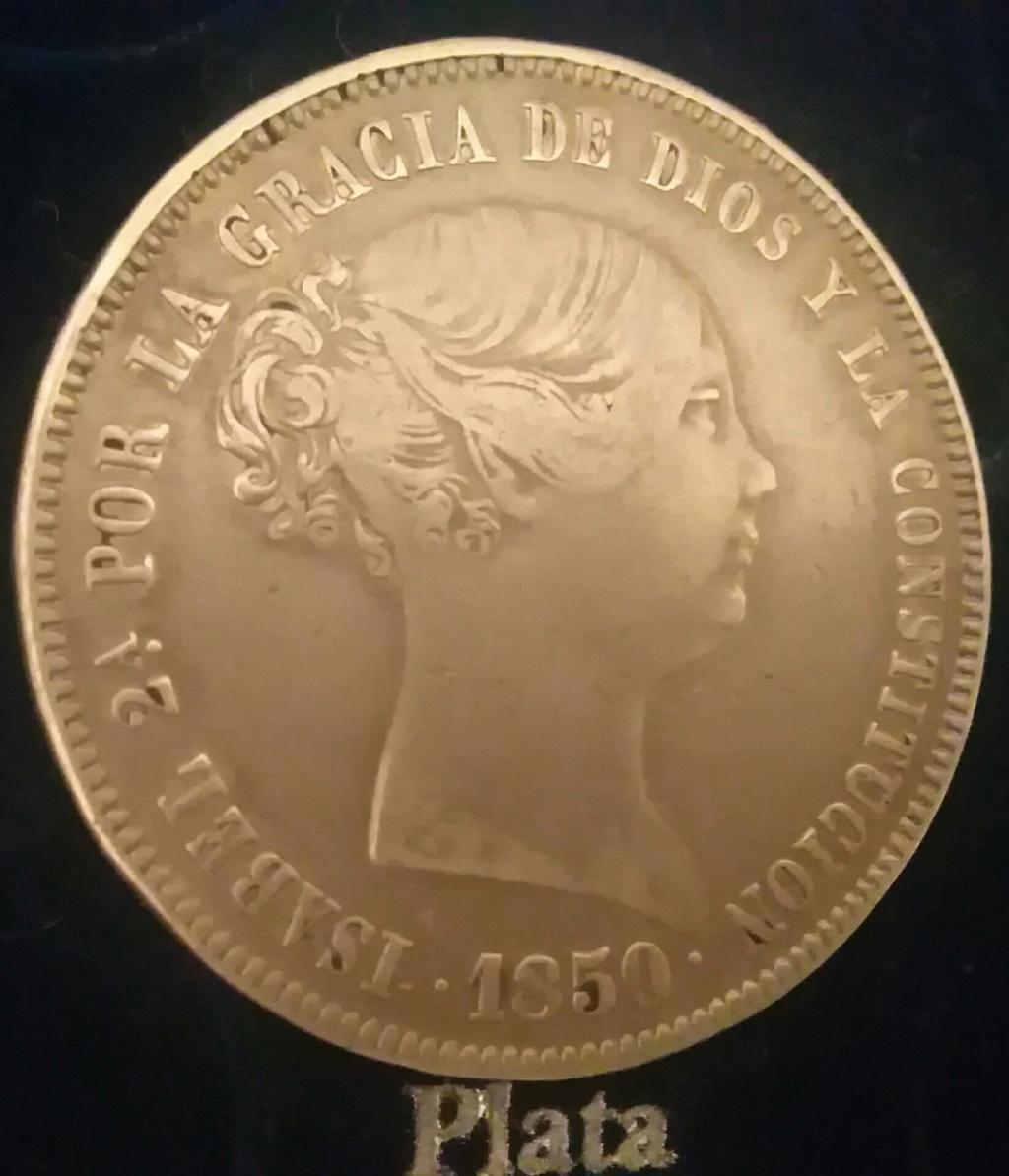 20 Realillos. - 20 reales Isabel ll. Madrid. 1850 CL. Img_2125