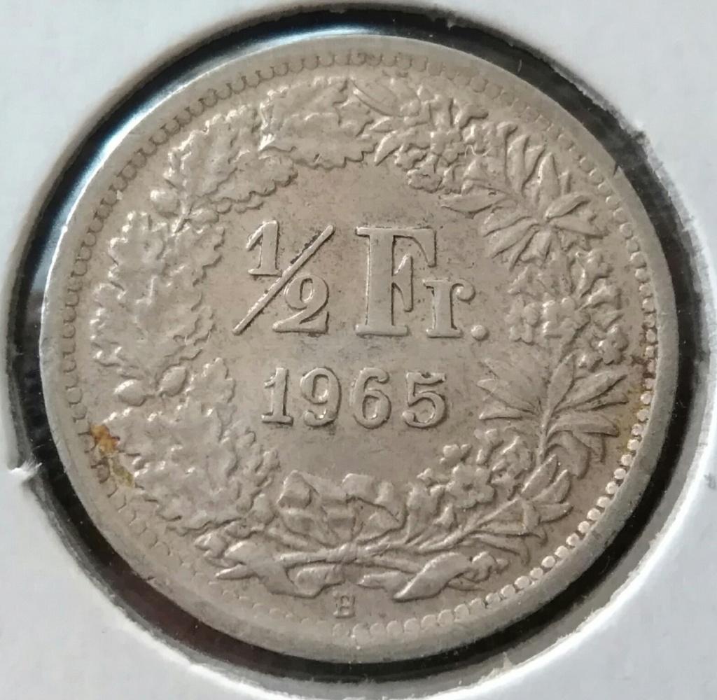 1/2 Franco de 1965. Confederación Helvetica. Dedicado a Natxos7. Img_2248