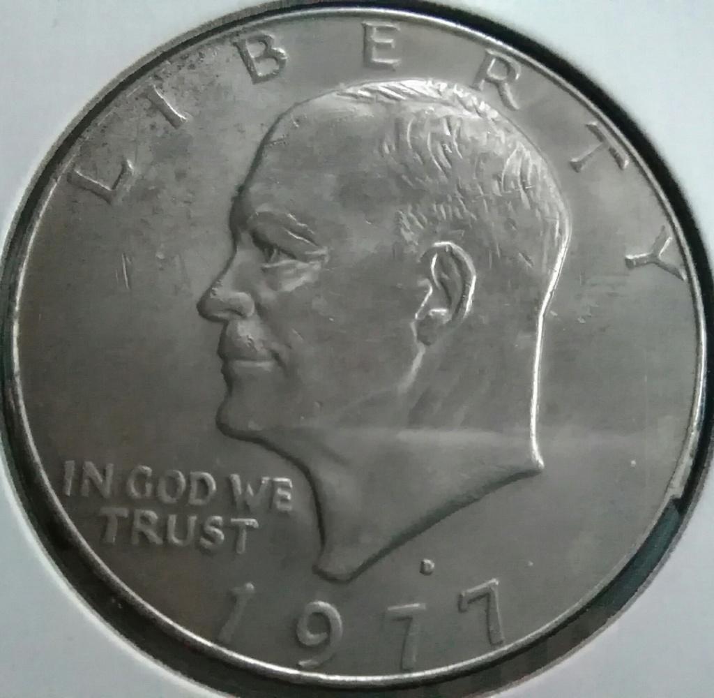 Águila alucinada. 1 Dólar de 1977 D. EE.UU. Img_2249