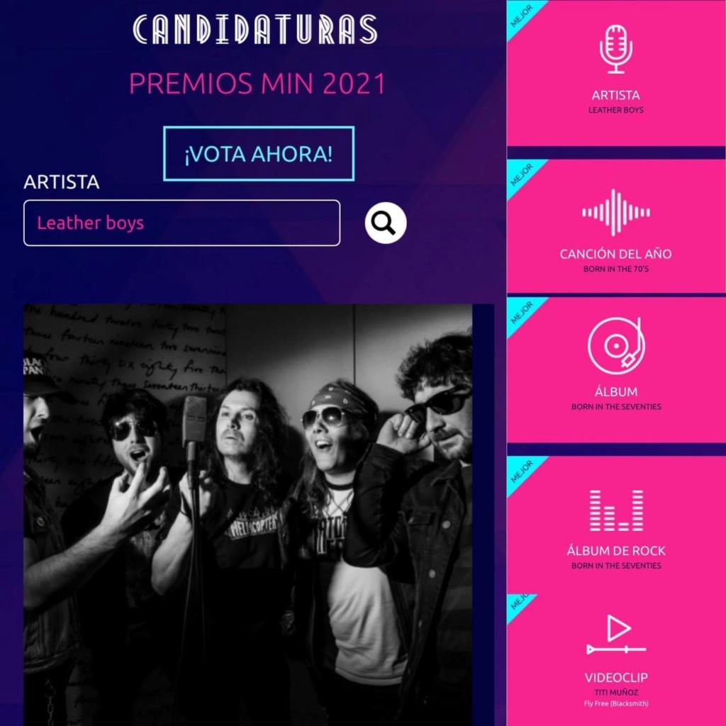 """Leather Boys nuevo disco """"Born in the 70's""""(YA A LA VENTA). Nominados a los premios MIN. Próximo concierto 3 Julio Sala Son Cangas (Galicia). 00477f10"""