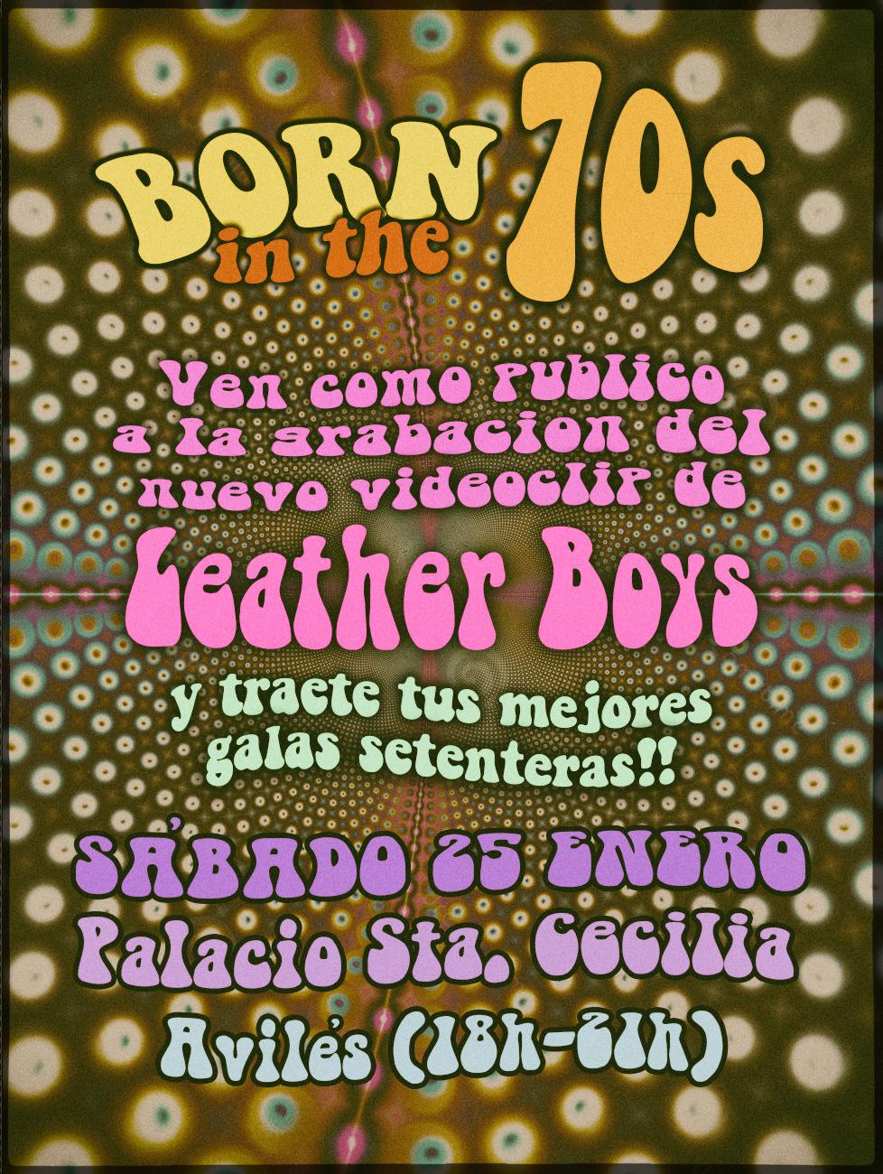 """Leather Boys nuevo disco """"Born in the 70's""""(YA A LA VENTA). Presentación oficial en directo 28 marzo Avilés (Asturias) y 3 Julio Sala Son Cangas (Galicia). 649cde10"""