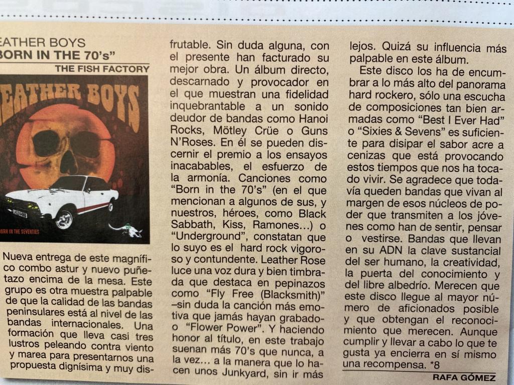 """Leather Boys nuevo disco """"Born in the 70's""""(YA A LA VENTA). Presentación oficial en directo 28 marzo Avilés (Asturias) y 3 Julio Sala Son Cangas (Galicia). Fe201410"""