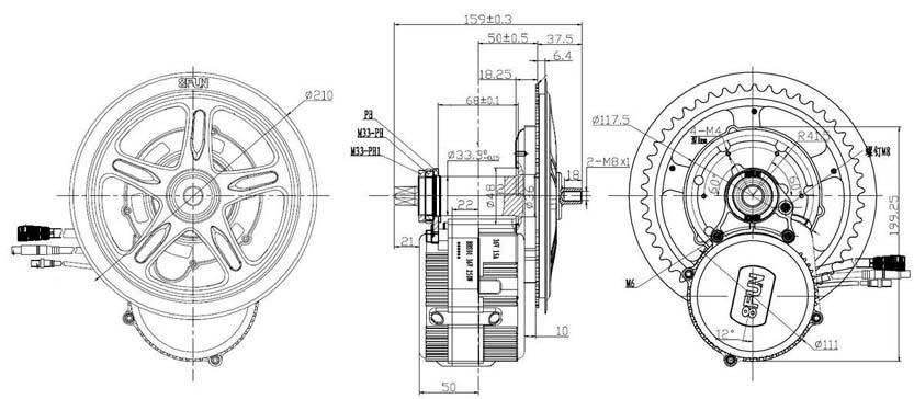 [AYUDA] Electrificando ORBEA MX50 con BAFANG 250W Bbs-pl10