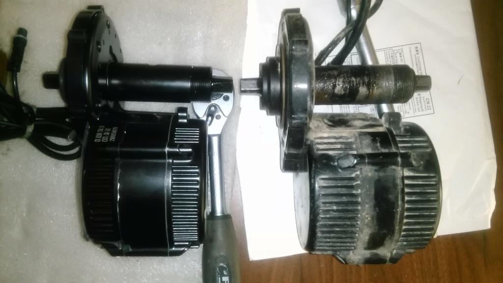 Motor Central Bafang BBS01B... Luces y Sombras... la estirpe continua Img_2123