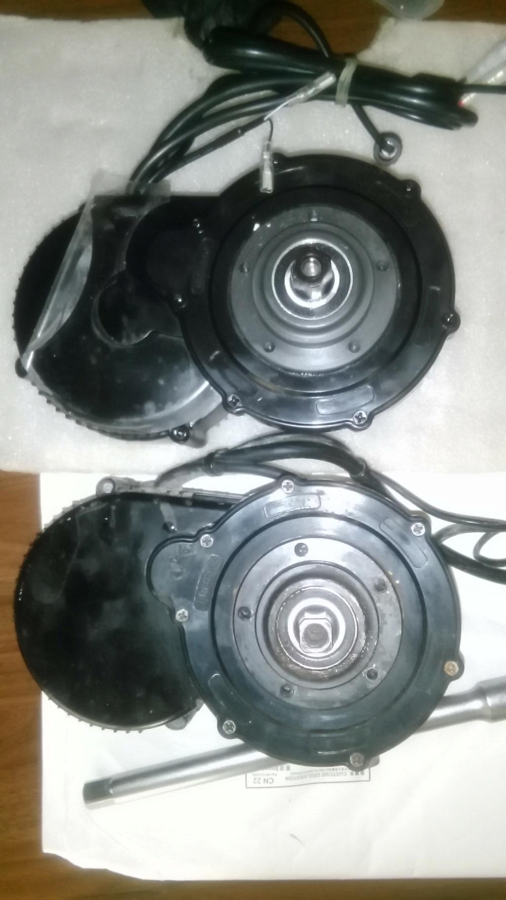 Motor Central Bafang BBS01B... Luces y Sombras... la estirpe continua Img_2125
