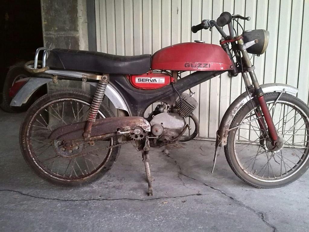 Restauración Moto Guzzi Serva 49 42410