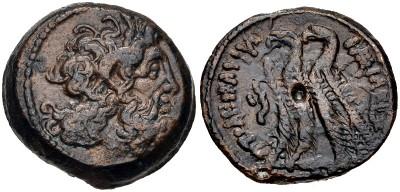 AE21 de Ptolomeo VI Filometor. Alexandría 33211310