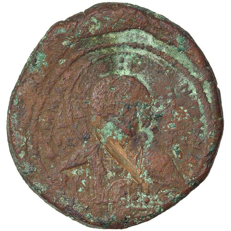 Follis anónimo atribuido a Basilio II y Constantino VIII. Smg_1116