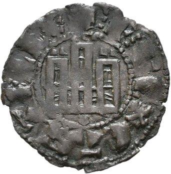 Dinero de Fernando IV Emisión de 1297. Smg_1124