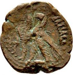 AE21 de Ptolomeo VI Filometor. Alexandría Smg_1130