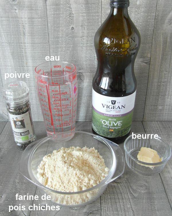 Panisse provençale et son aôli 151