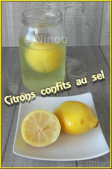 Citron confit au sel...............Maroc 27101210