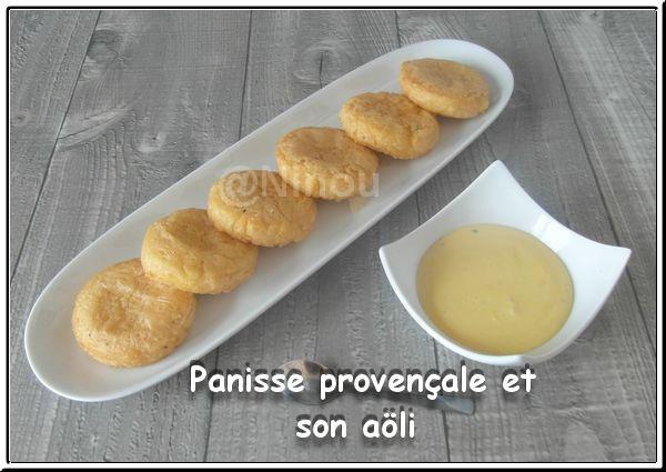 Panisse provençale et son aôli 440