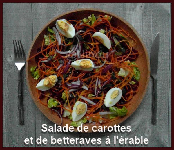 Salade de carottes et de betteraves à l'érable  Ninou11
