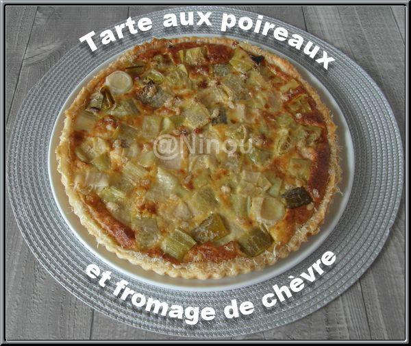 Tarte aux poireaux et fromage de chèvre+photos Sam_8022