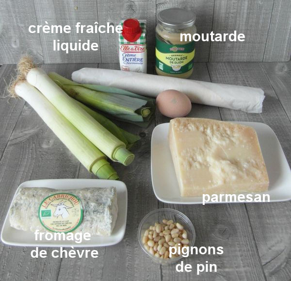 Tarte aux poireaux et fromage de chèvre+photos Sam_8111