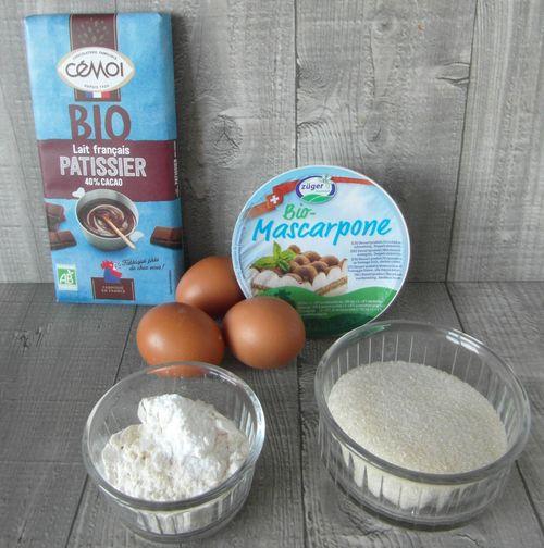 Gâteau fondant au chocolat sans beurre Sam_8520