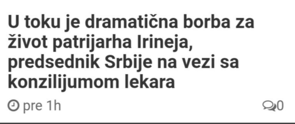 Preminuo patrijarh Irinej - Page 3 585a2a10