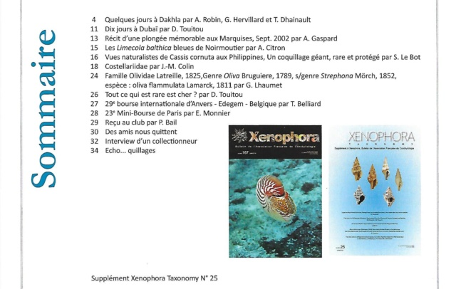XENOPHORA N°167 & TAXONOMY N°25 Xeno_111