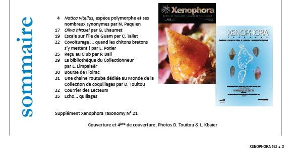2018 - 07 / XENOPHORA N°163 et TAXONOMY N°21 Xzono_10