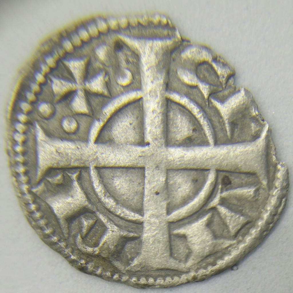 Dinero de vellón de Alfonso II (1162-1196) Barcelona Cay01811