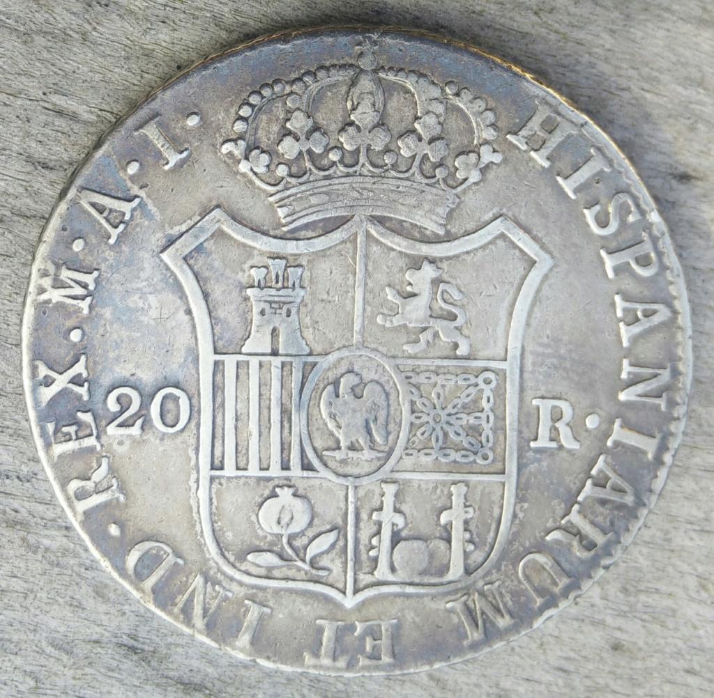 20 reales de José Napoleón 1812 Cay14712