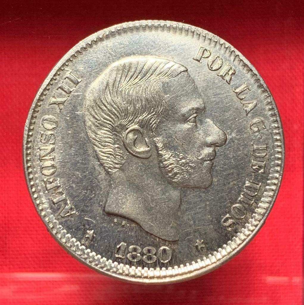 50 centavos de 1880 Manila S-l16014