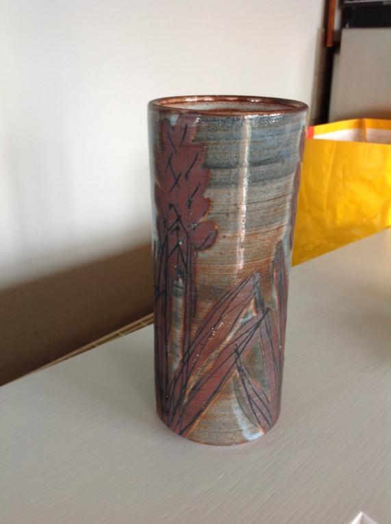 Studio pottery vase - briglin Img_2211