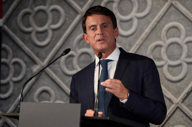 """Manuel Valls: """"La locura independentista ha puesto en jaque el comercio, los trabajos y la seguridad jurídica de los catalanes y catalanas"""" 15378910"""