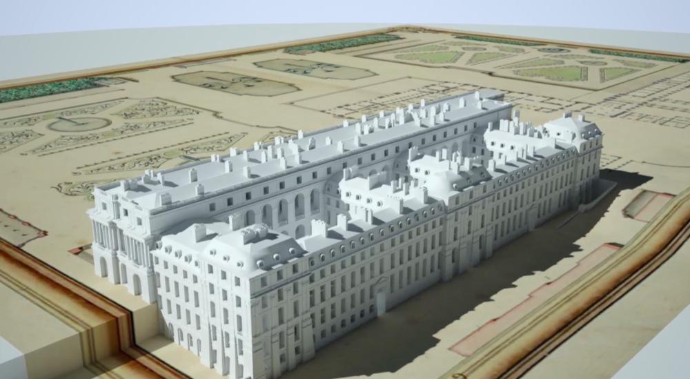 """""""Versailles : le palais retrouvé du Roi-soleil"""", lumineux documentaire  00_44_10"""