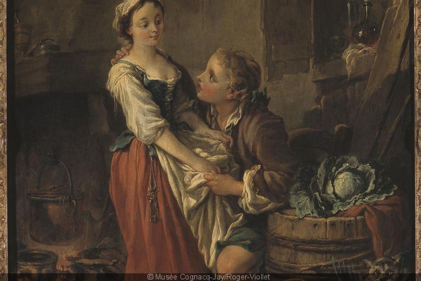 Exposition : L'Empire des sens, de François Boucher à Jean-Baptiste Greuze, au musée Cognacq-Jay 50359910