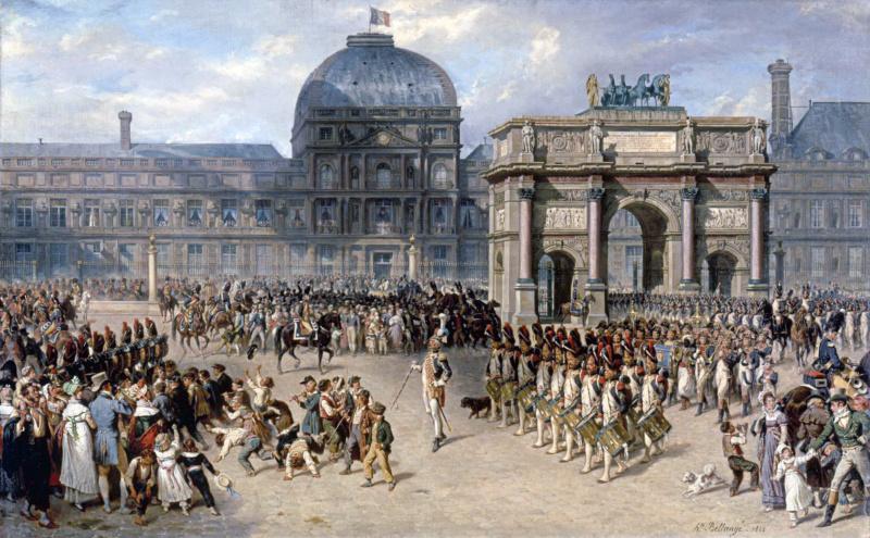 Promenade du Louvre royal à la Concorde républicaine File-213