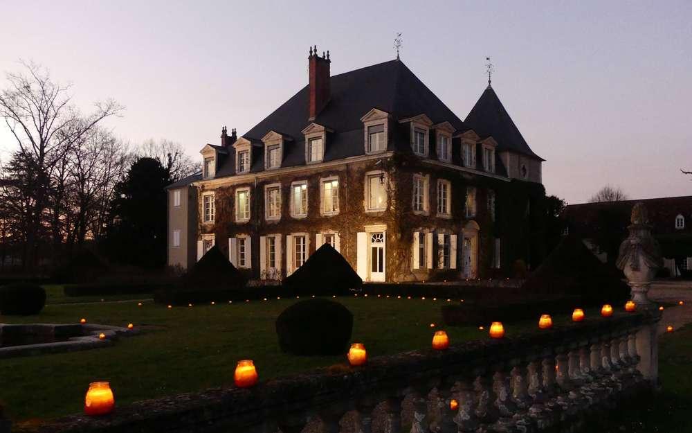 Soirée aux chandelles au château de Laàs Le-cha10