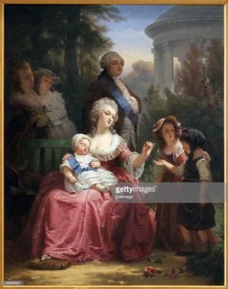 A vendre: tableaux Marie-Antoinette, Versailles et XVIIIe siècle - Page 3 Sib410