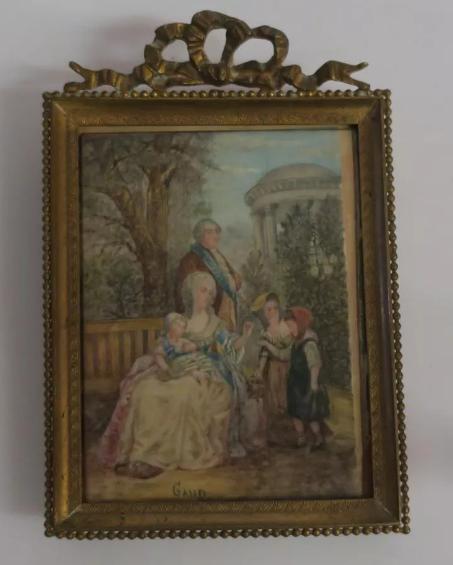 A vendre: tableaux Marie-Antoinette, Versailles et XVIIIe siècle - Page 3 Tzolzo12